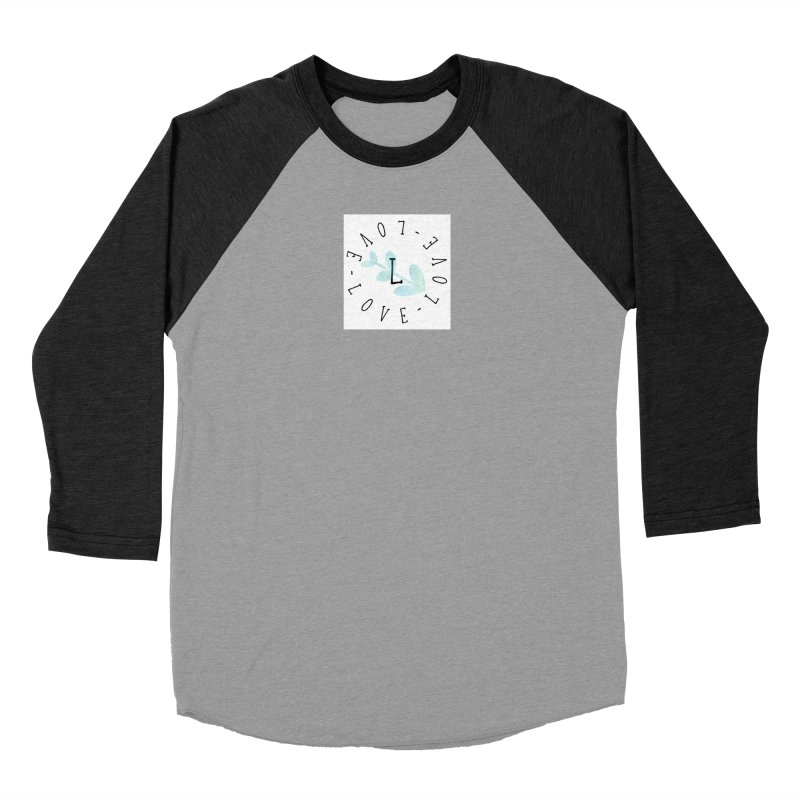 Love-Love-Love Women's Baseball Triblend Longsleeve T-Shirt by IF Creation's Artist Shop