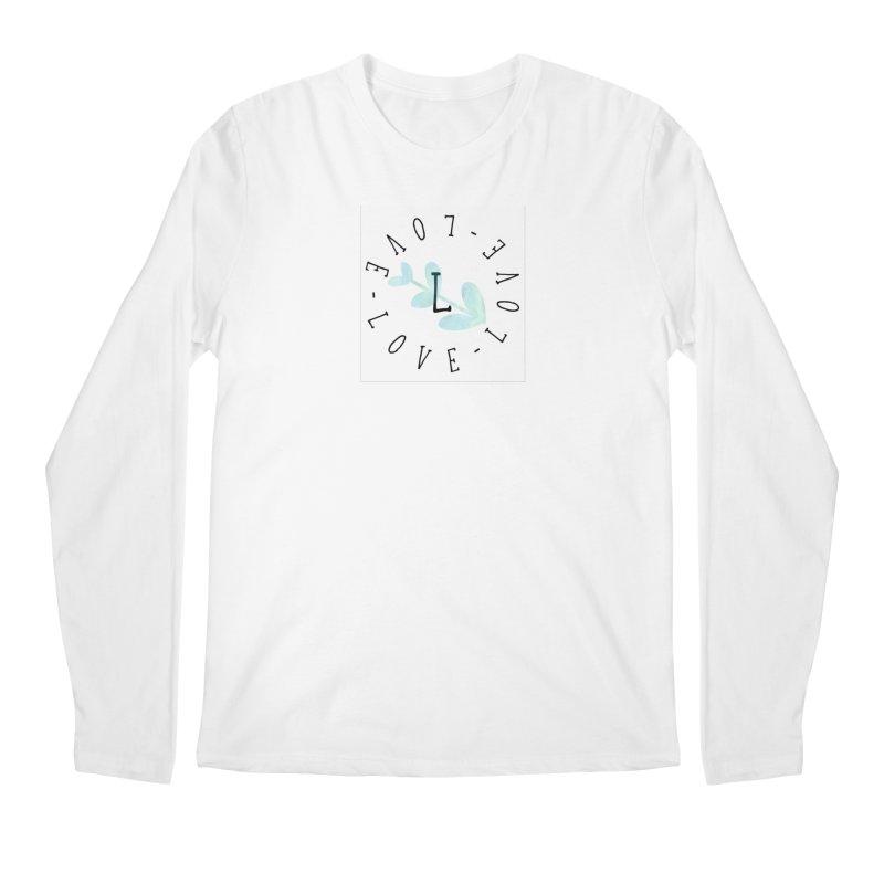 Love-Love-Love Men's Regular Longsleeve T-Shirt by IF Creation's Artist Shop