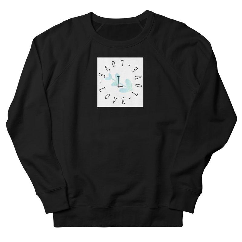 Love-Love-Love Women's French Terry Sweatshirt by IF Creation's Artist Shop