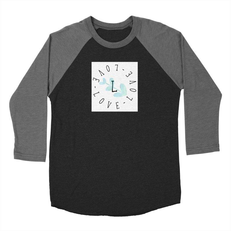 Love-Love-Love Men's Baseball Triblend Longsleeve T-Shirt by IF Creation's Artist Shop