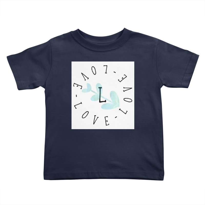 Love-Love-Love Kids Toddler T-Shirt by IF Creation's Artist Shop