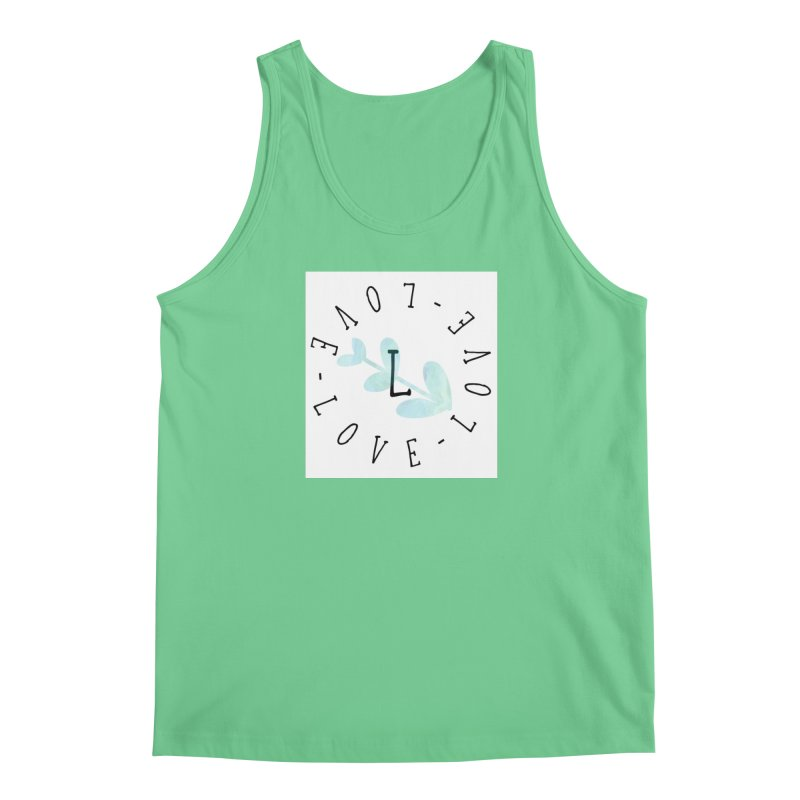 Love-Love-Love Men's Tank by IF Creation's Artist Shop