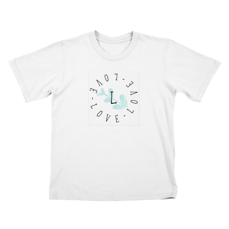 Love-Love-Love Kids T-Shirt by IF Creation's Artist Shop