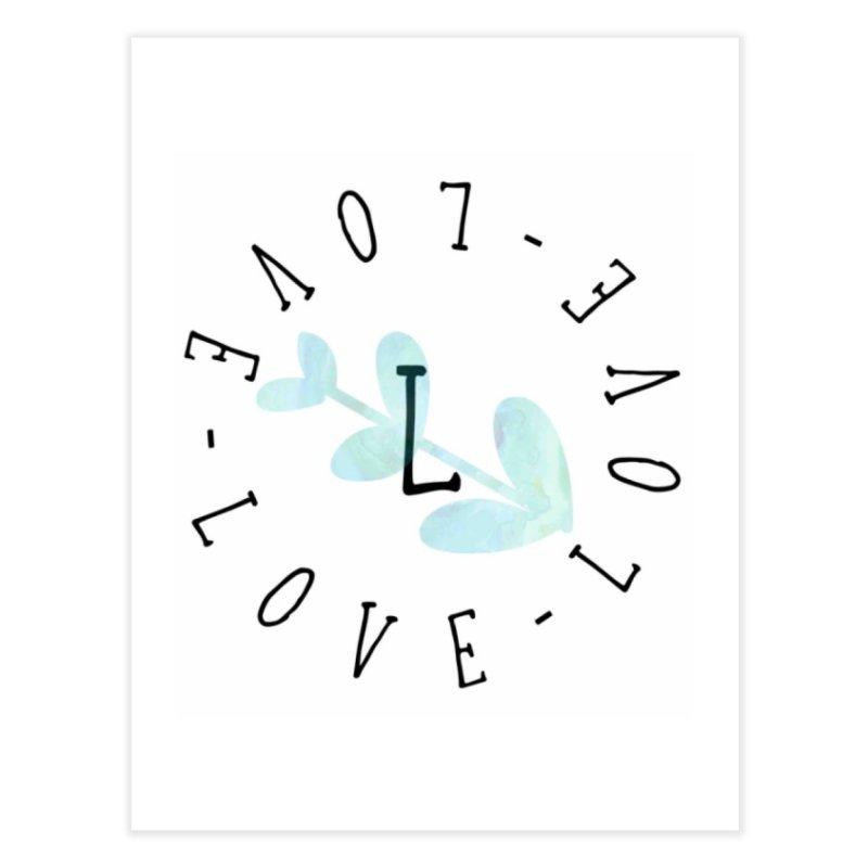 Love-Love-Love Home Fine Art Print by IF Creation's Artist Shop