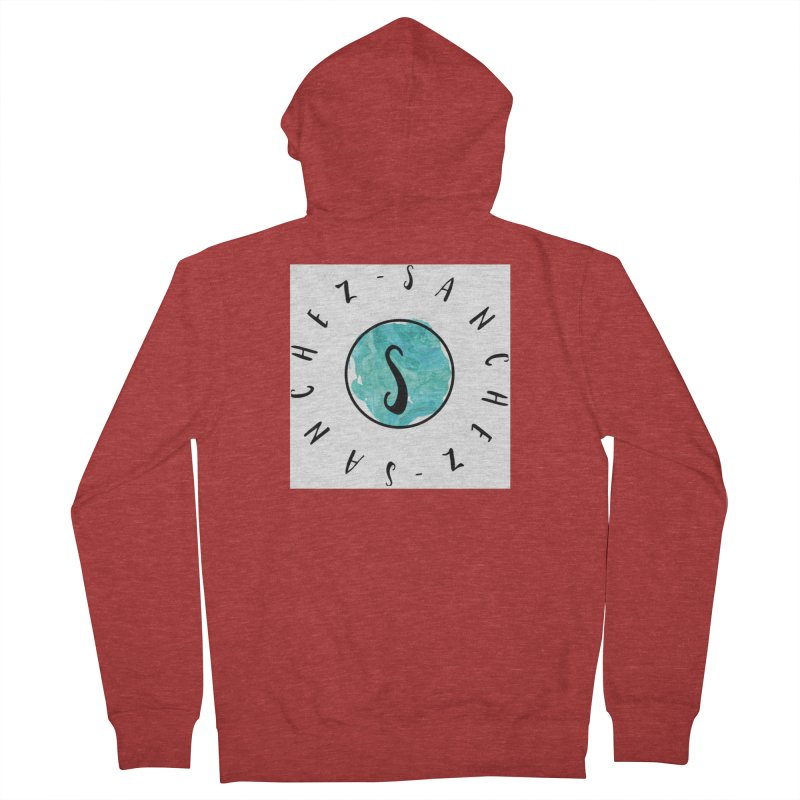Sanchez Men's Zip-Up Hoody by IF Creation's Artist Shop