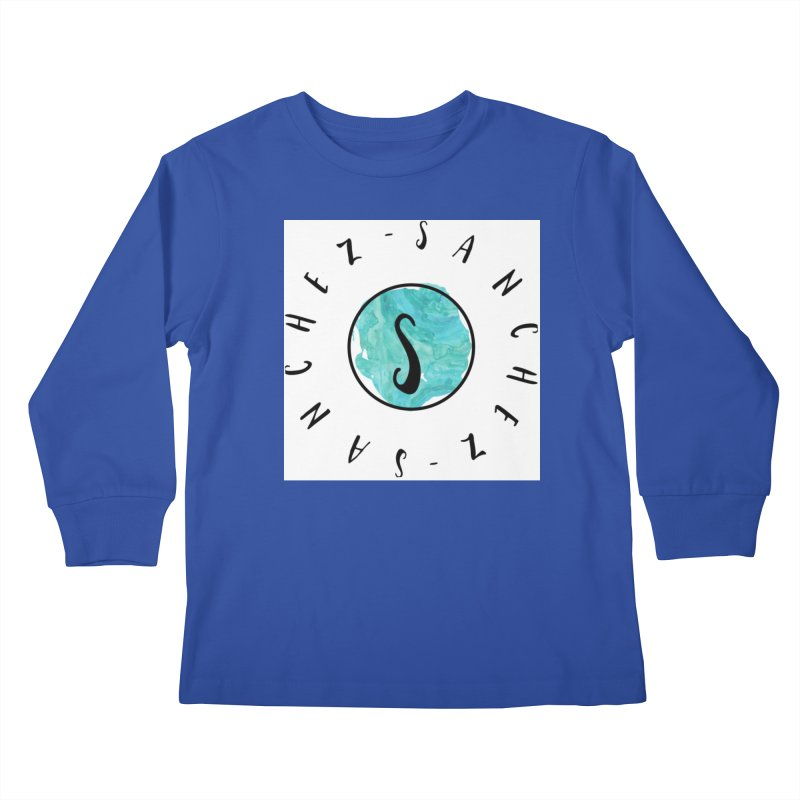 Sanchez Kids Longsleeve T-Shirt by IF Creation's Artist Shop