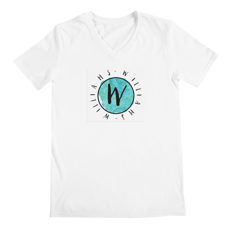 Williams Men's Regular V-Neck by IF Creation's Artist Shop