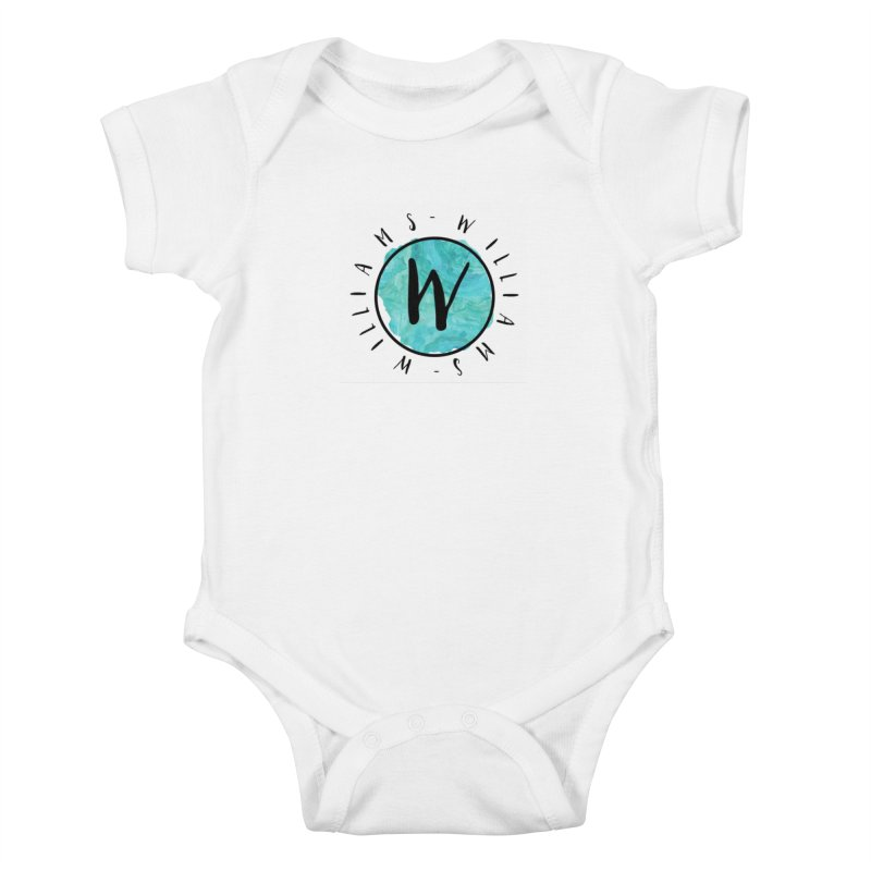Williams Kids Baby Bodysuit by IF Creation's Artist Shop