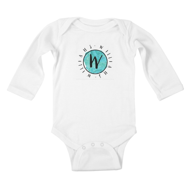 Williams Kids Baby Longsleeve Bodysuit by IF Creation's Artist Shop