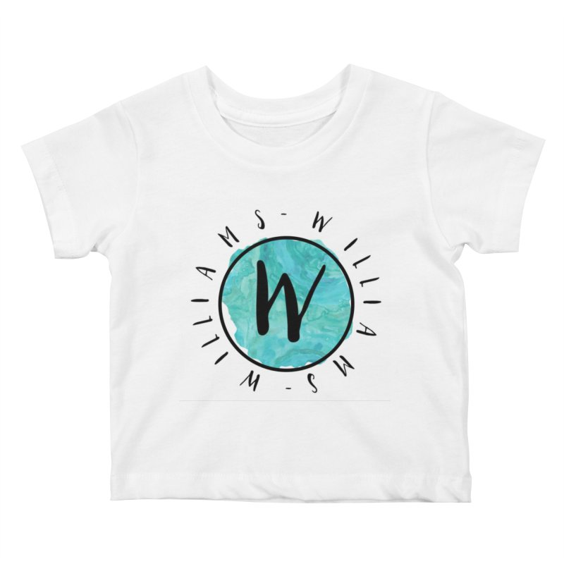 Williams Kids Baby T-Shirt by IF Creation's Artist Shop