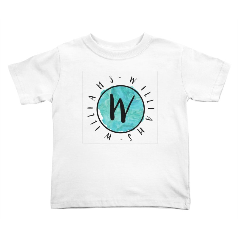 Williams Kids Toddler T-Shirt by IF Creation's Artist Shop