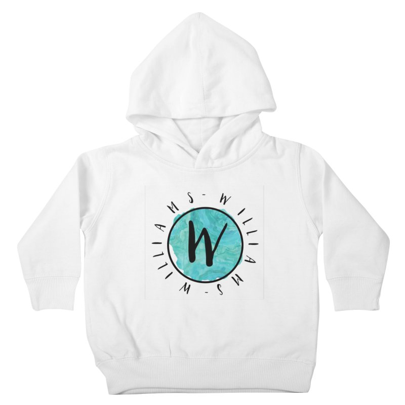 Williams Kids Toddler Pullover Hoody by IF Creation's Artist Shop