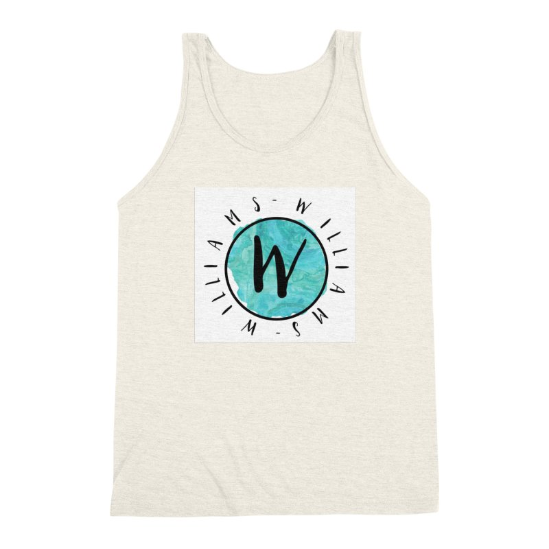 Williams Men's Triblend Tank by IF Creation's Artist Shop