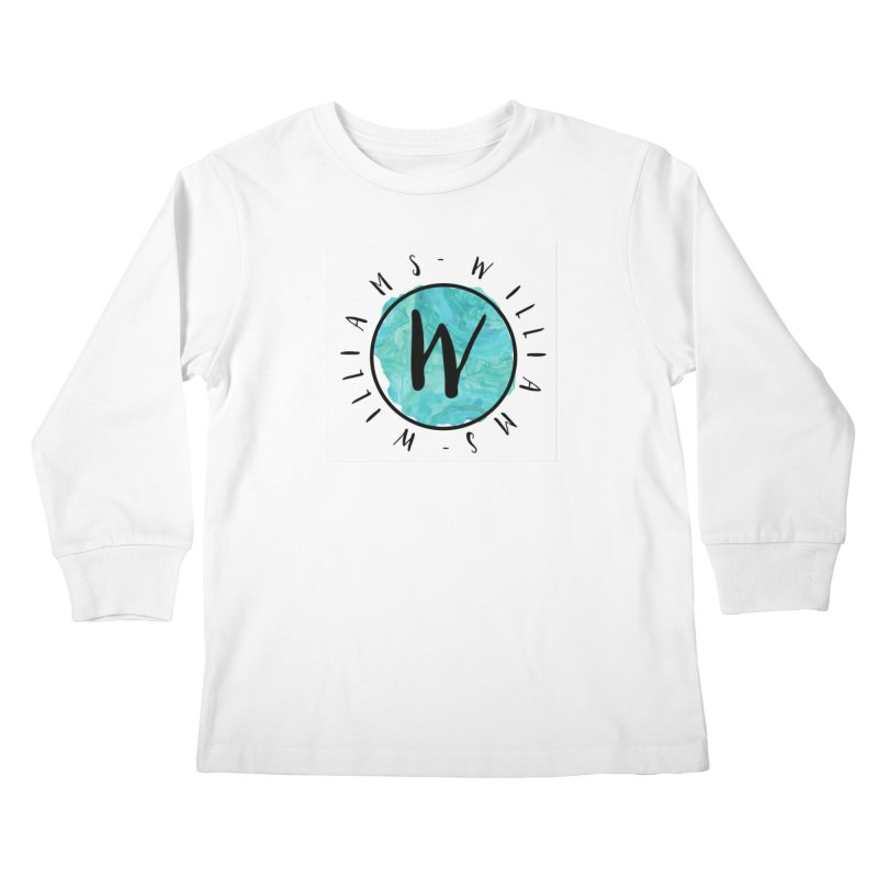 Williams Kids Longsleeve T-Shirt by IF Creation's Artist Shop