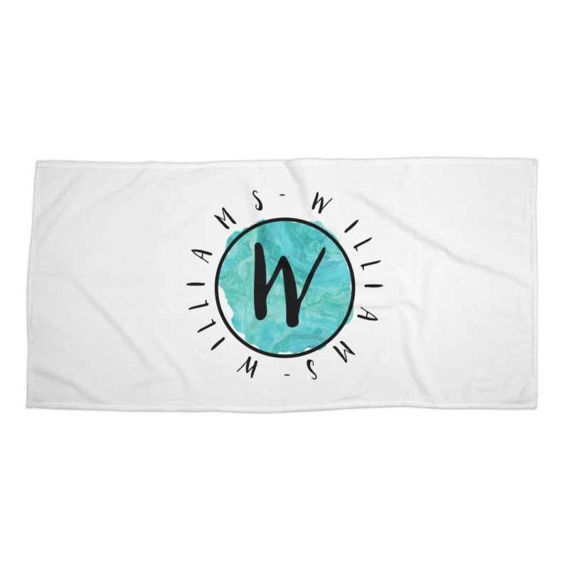 Williams Accessories Beach Towel by IF Creation's Artist Shop