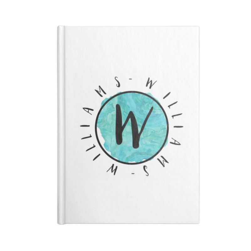 Williams Accessories Blank Journal Notebook by IF Creation's Artist Shop