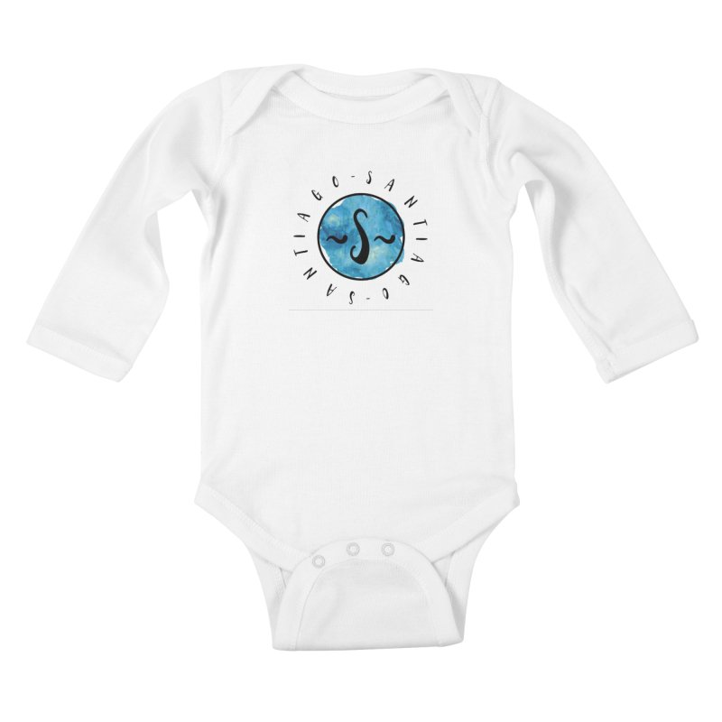 Santiago Kids Baby Longsleeve Bodysuit by IF Creation's Artist Shop