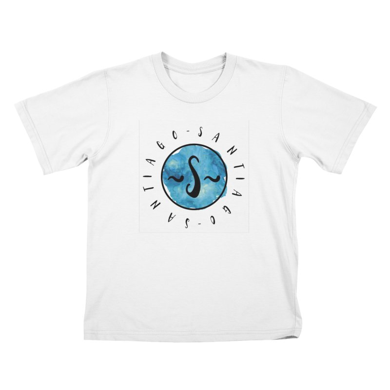 Santiago Kids T-Shirt by IF Creation's Artist Shop