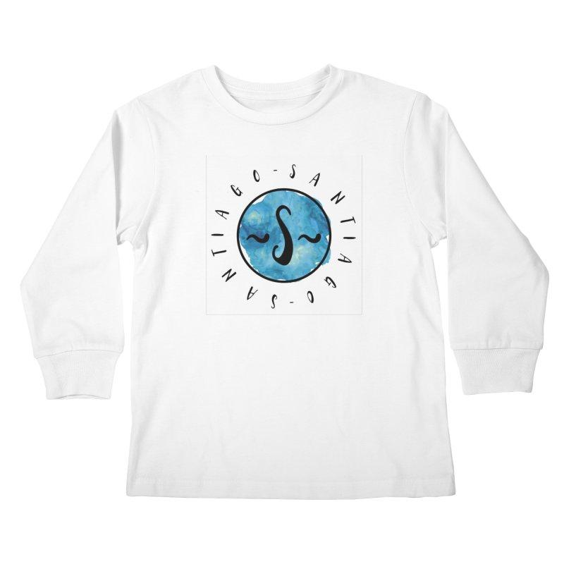 Santiago Kids Longsleeve T-Shirt by IF Creation's Artist Shop