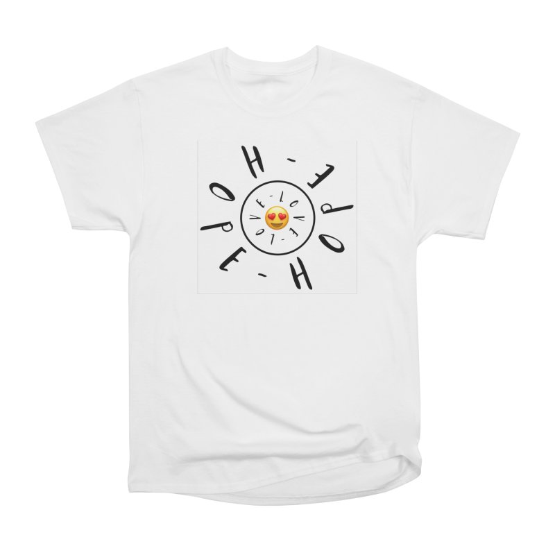 Hope-Love Women's Classic Unisex T-Shirt by IF Creation's Artist Shop