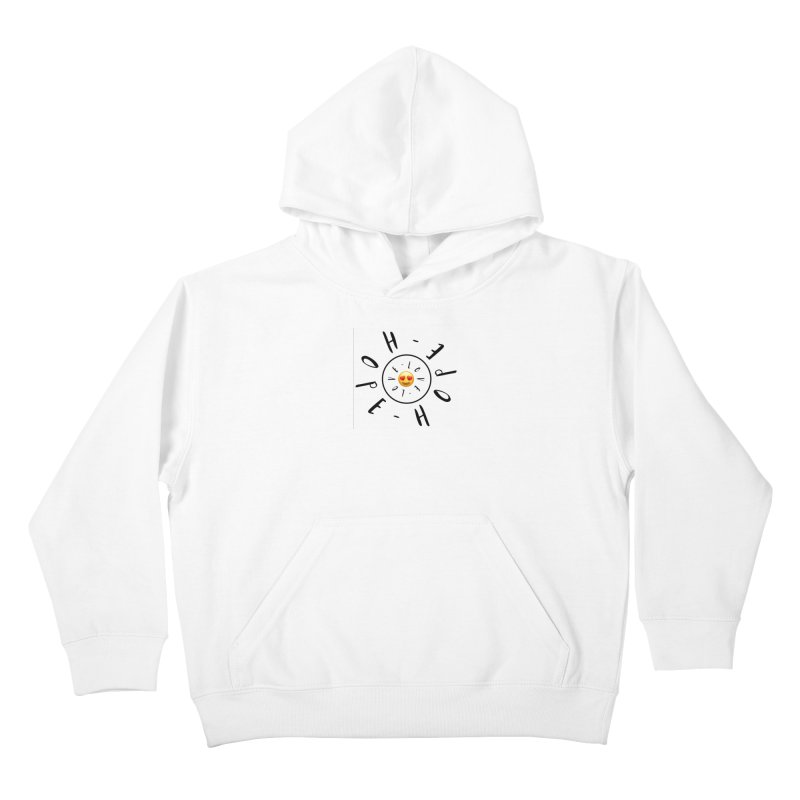 Hope-Love Kids Pullover Hoody by IF Creation's Artist Shop