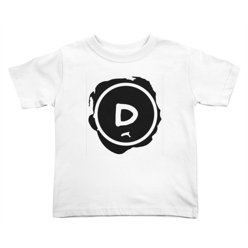 Letter D Stamp Kids Toddler T-Shirt by IF Creation's Artist Shop