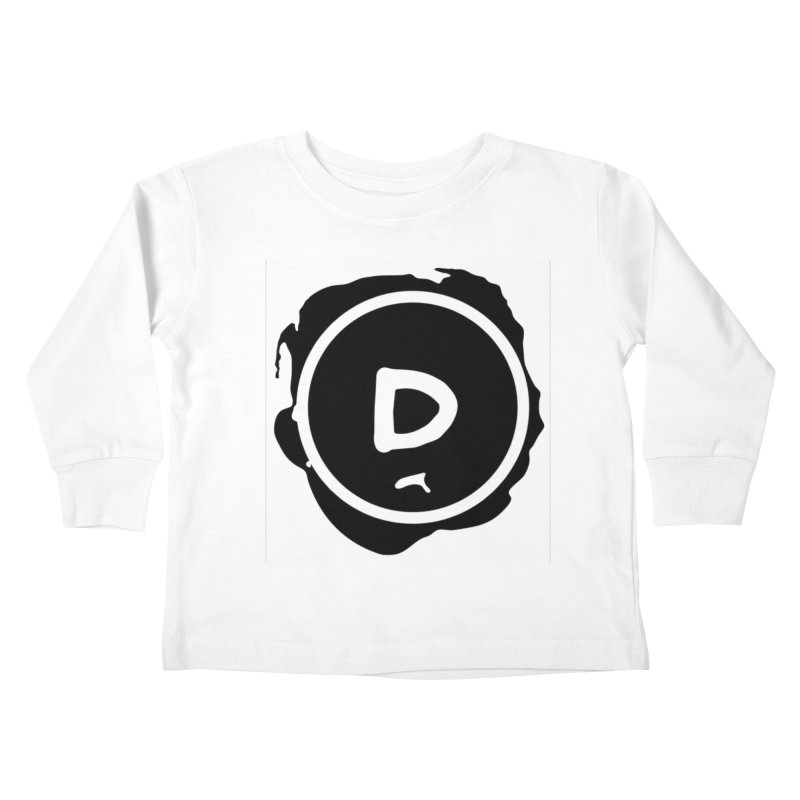 Letter D Stamp Kids Toddler Longsleeve T-Shirt by IF Creation's Artist Shop