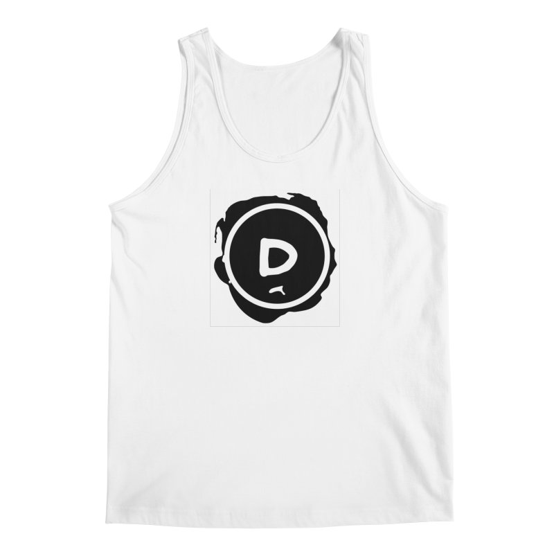Letter D Stamp Men's Tank by IF Creation's Artist Shop