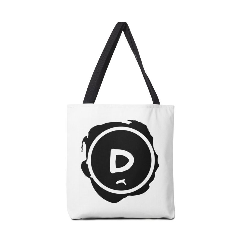 Letter D Stamp Accessories Bag by IF Creation's Artist Shop