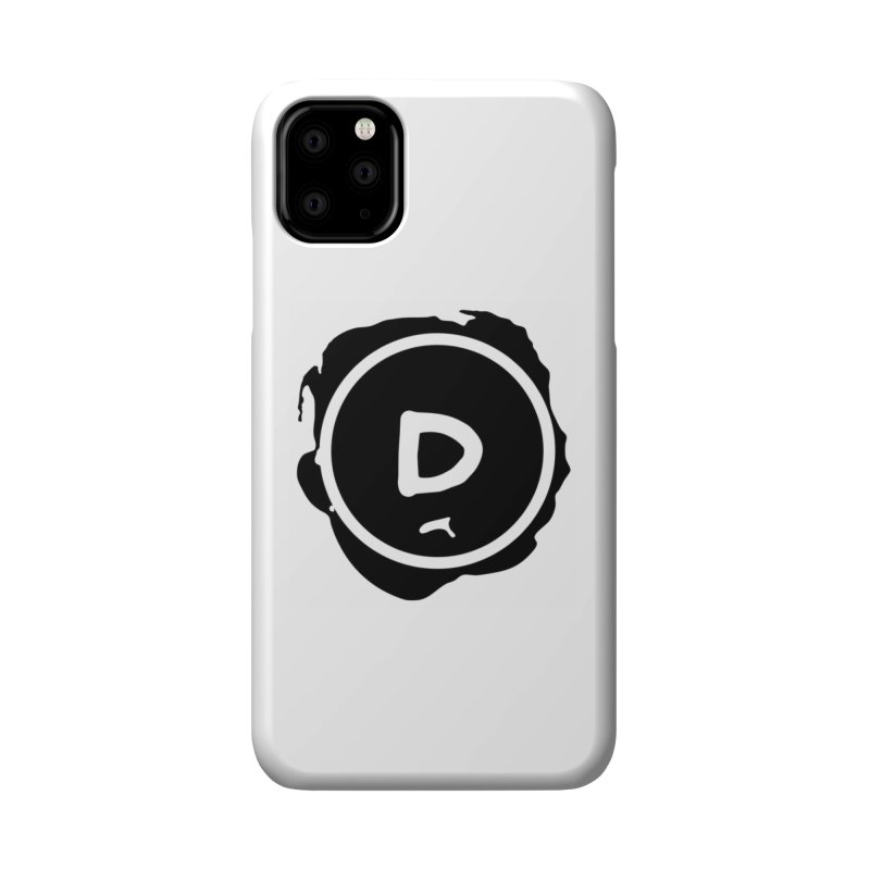 Letter D Stamp Accessories Phone Case by IF Creation's Artist Shop