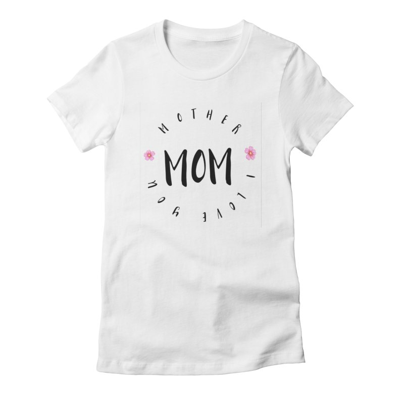 Mother, I Love You Women's French Terry Zip-Up Hoody by IF Creation's Artist Shop