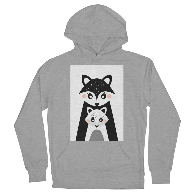 MAMA FOX & BABY FOX Women's Pullover Hoody by IF Creation's Artist Shop