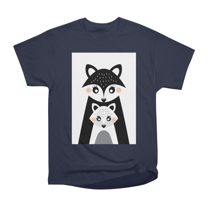 MAMA FOX & BABY FOX Women's Classic Unisex T-Shirt by IF Creation's Artist Shop