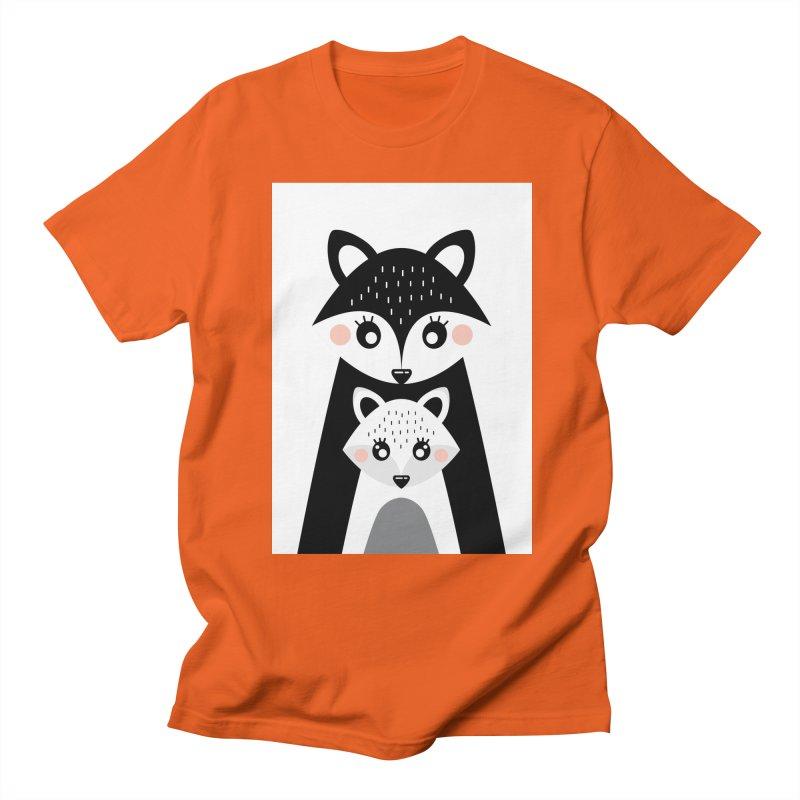 MAMA FOX & BABY FOX Women's Unisex T-Shirt by IF Creation's Artist Shop