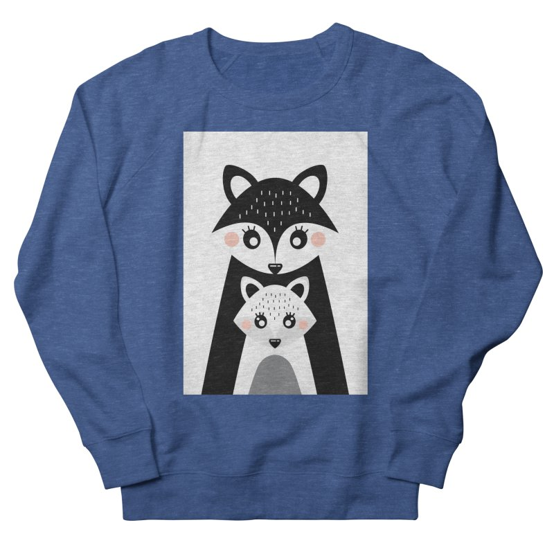 MAMA FOX & BABY FOX Women's French Terry Sweatshirt by IF Creation's Artist Shop