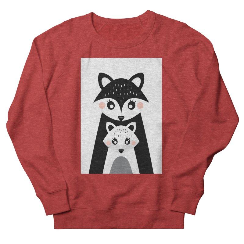 MAMA FOX & BABY FOX Women's Sweatshirt by IF Creation's Artist Shop