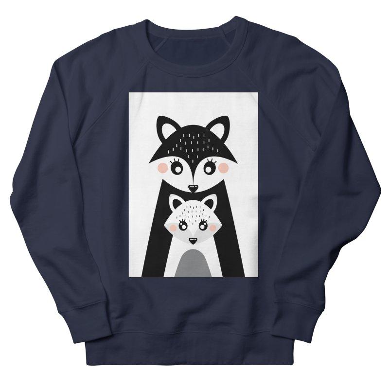 MAMA FOX & BABY FOX Women's French Terry Sweatshirt by IF Creation's Artist Shop