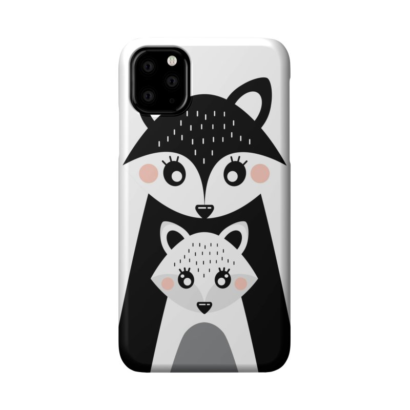 MAMA FOX & BABY FOX Accessories Phone Case by IF Creation's Artist Shop