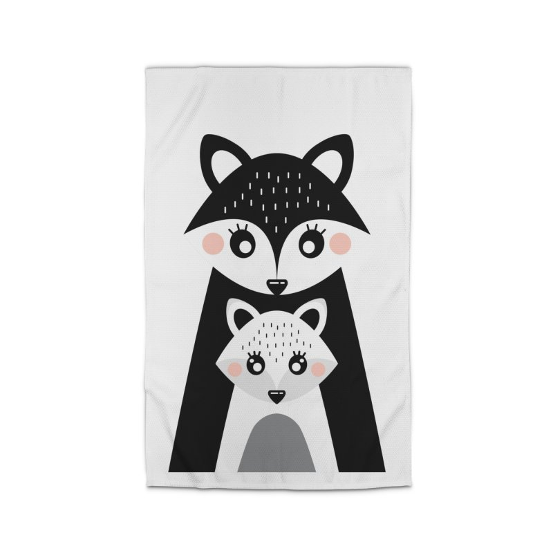MAMA FOX & BABY FOX Home Rug by IF Creation's Artist Shop