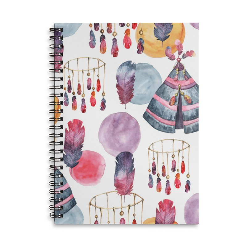 TRIBE DESIGN Accessories Notebook by IF Creation's Artist Shop