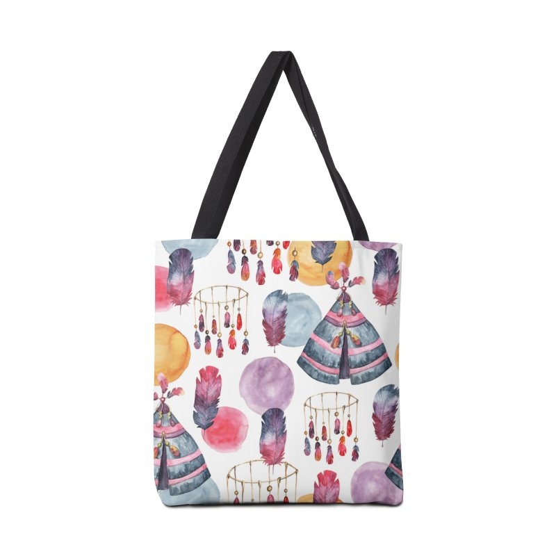 TRIBE DESIGN Accessories Tote Bag Bag by IF Creation's Artist Shop