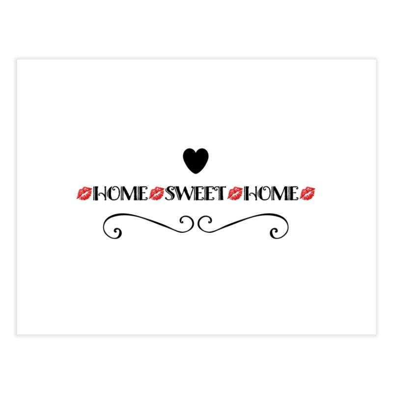Home sweet home Home Bath Mat by IF Creation's Artist Shop
