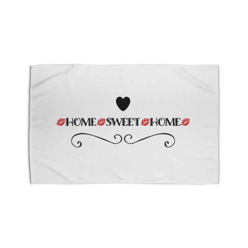 Home sweet home Home Rug by IF Creation's Artist Shop