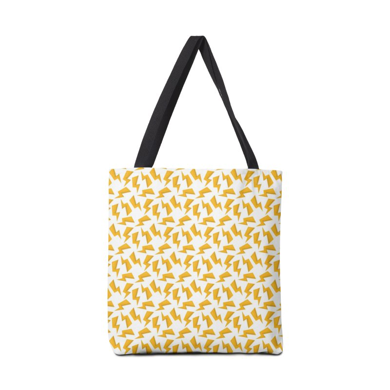 Wizard Yellow Zap Flash Accessories Tote Bag Bag by IF Creation's Artist Shop