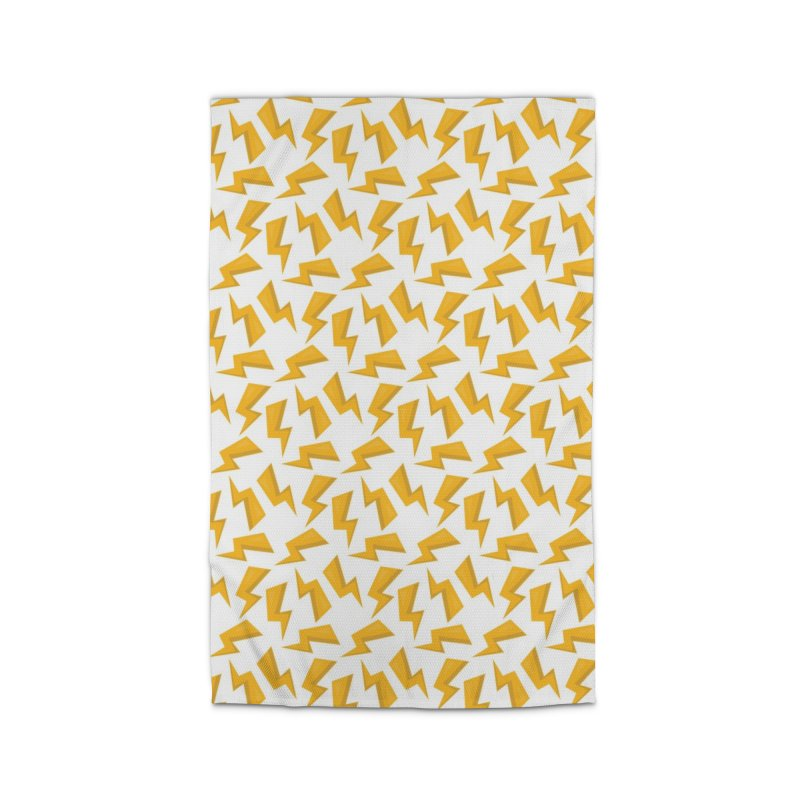 Wizard Yellow Zap Flash Home Rug by IF Creation's Artist Shop