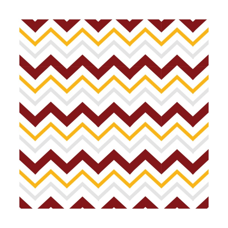 Maroon & Mustard Yellow Zigzag Accessories Notebook by IF Creation's Artist Shop