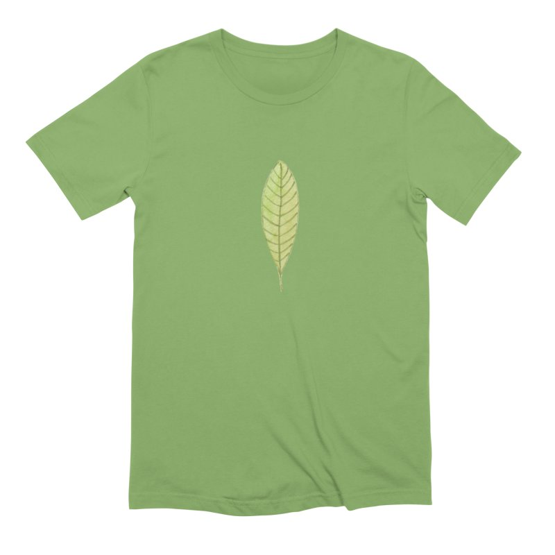 GREEN LEAF Men's Extra Soft T-Shirt by IF Creation's Artist Shop
