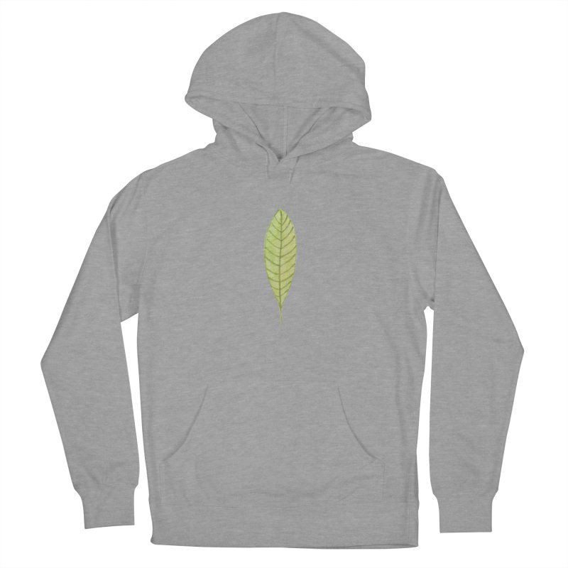 GREEN LEAF Women's Pullover Hoody by IF Creation's Artist Shop
