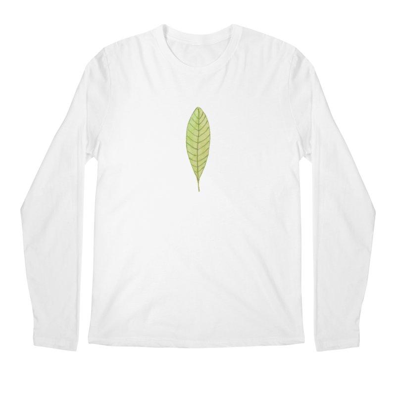 GREEN LEAF Men's Regular Longsleeve T-Shirt by IF Creation's Artist Shop