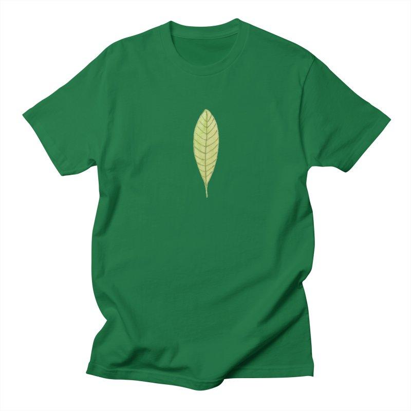 GREEN LEAF Women's Unisex T-Shirt by IF Creation's Artist Shop